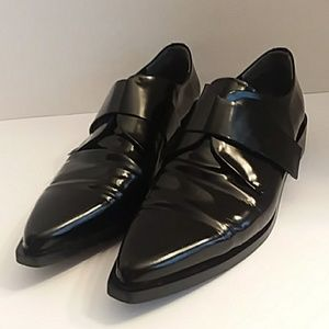 Zara woman black loafers